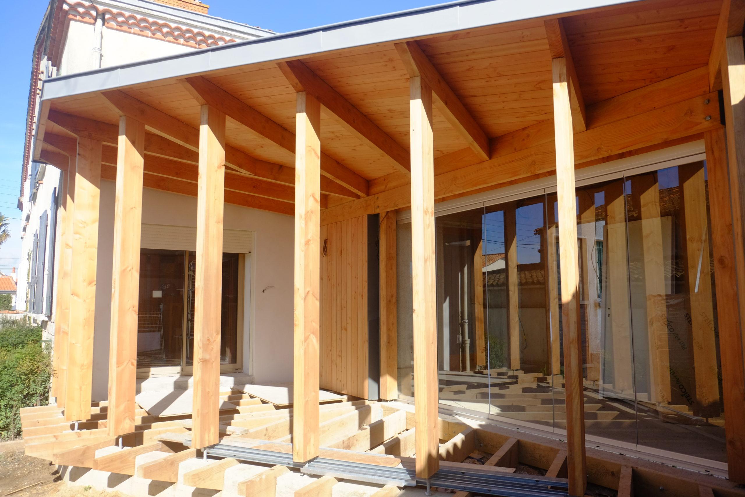 Extension bois douglas Niort